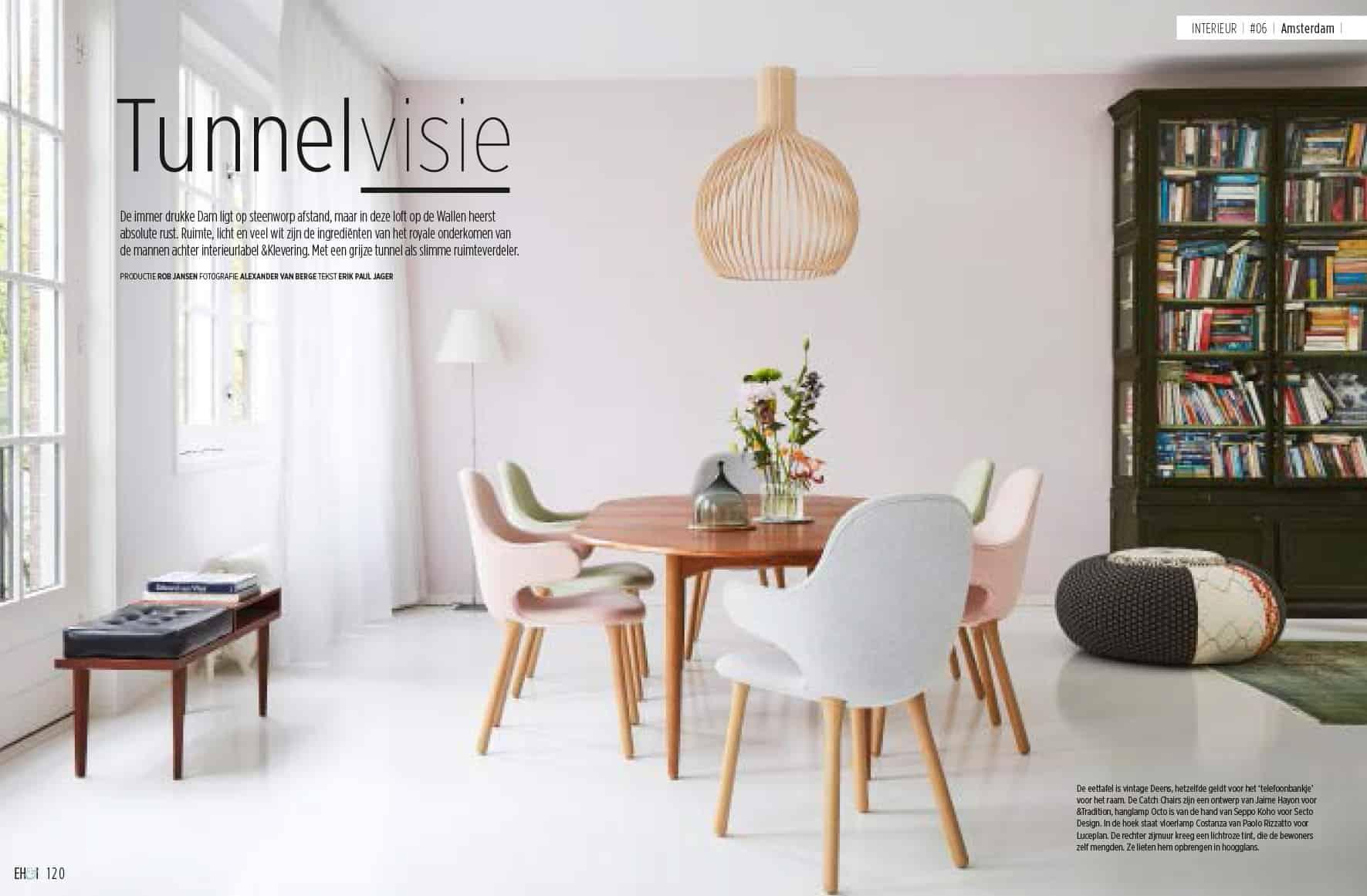 Groenburgwal in de Eigen Huis en Interieur - Bas Vogelpoel Architecten